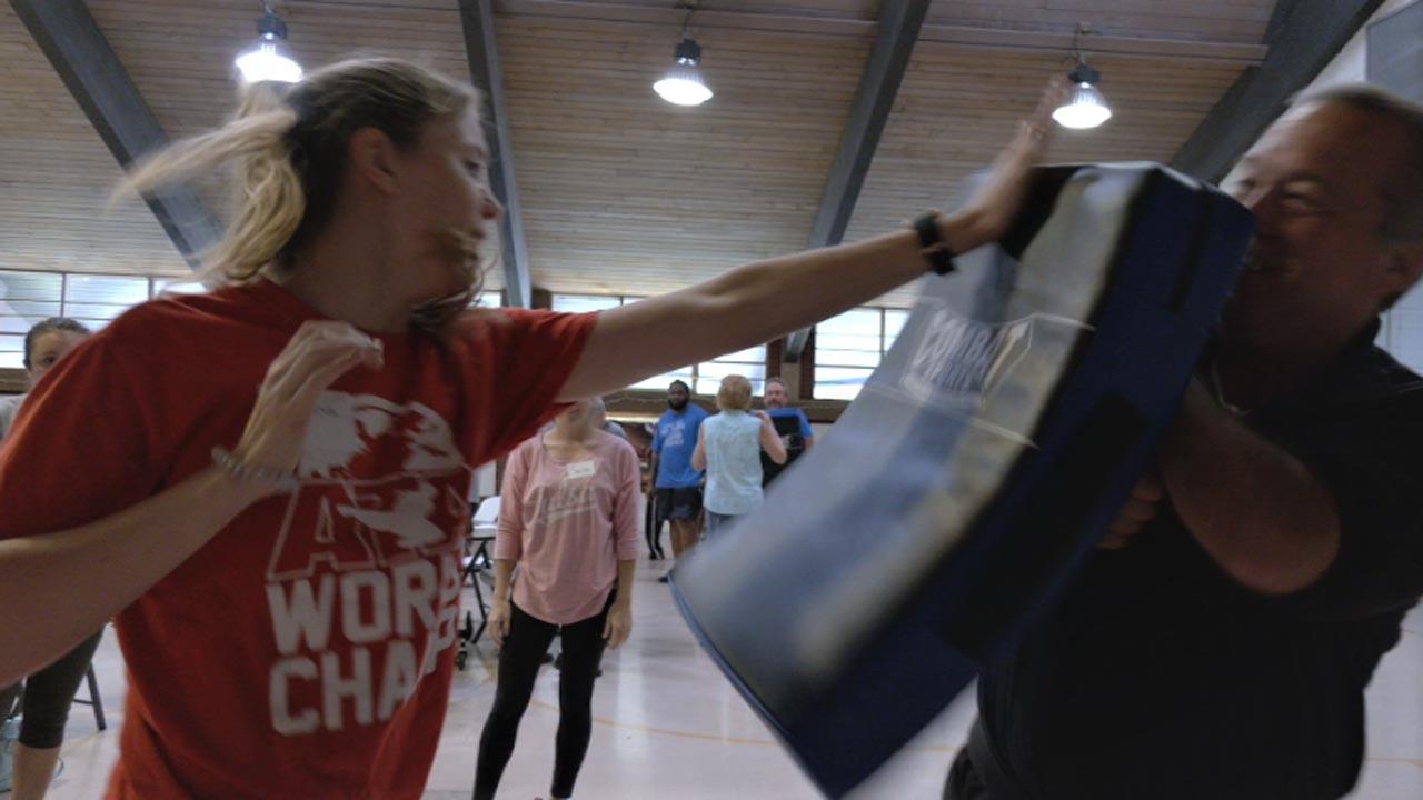 ATA Tulsa Martial Arts Hosts Ladies Self-Defense Course