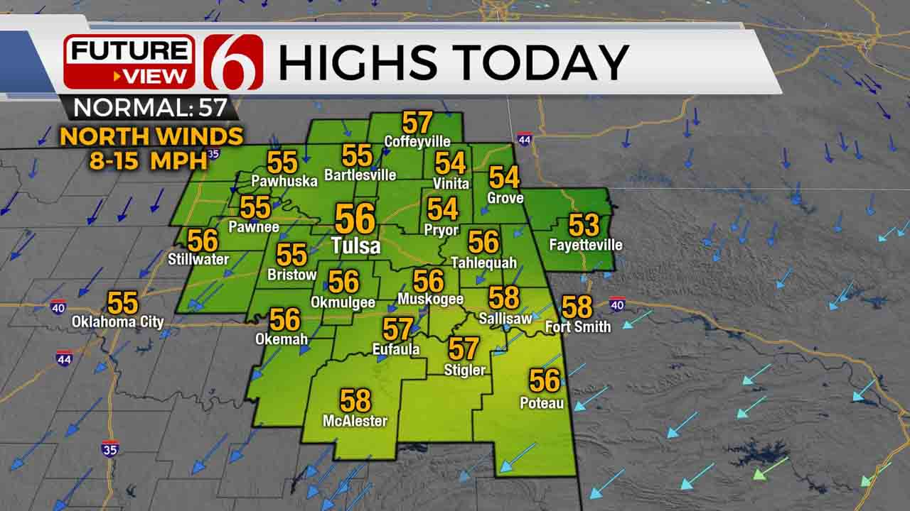 Spring-Like Weather Returns To Green Country