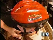 Gaming helmet helps children concentrate
