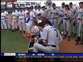Children's Center sends support to former MLB star