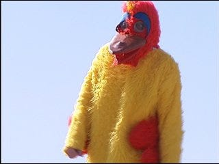West Nichols Hills Elementary Principal is a chicken
