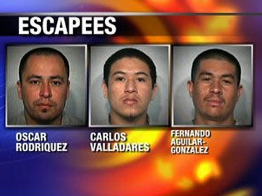 Authorities catch 3 escapees from Taft prison