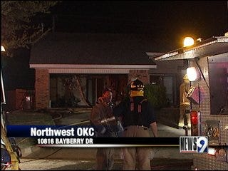 Separate blazes damage two city homes