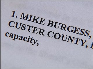Custer County Sheriff charged with 35 felony counts