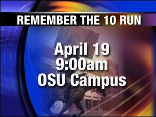 Remember the 10 run scheduled for Saturday
