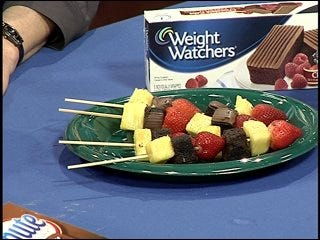Weight Watchers: Hawaiian Chicken Kebabs