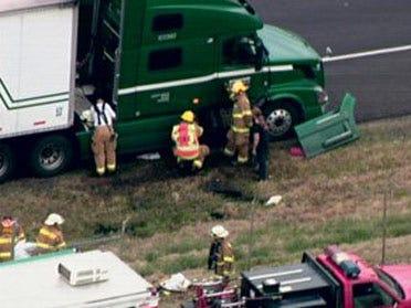 Fuel spill snarls I-40 traffic