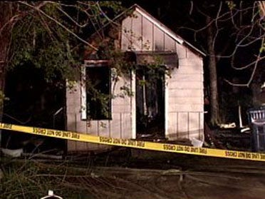 Men found dead in burning house identified