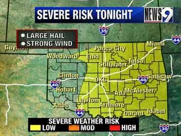 Severe storms likely Wednesday night