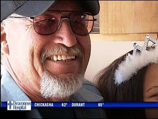 Man reunites with abandoned girl