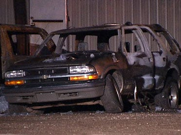 Midwest City repo lot torched, fire officials say