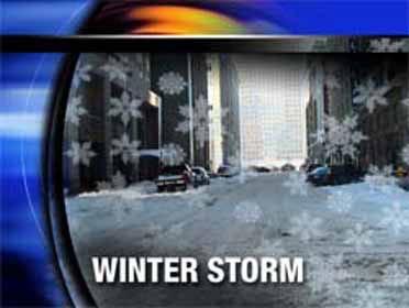 Winter storm strikes north-central U.S.
