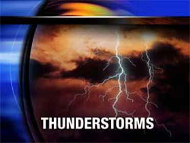 Storms possible Saturday night & Sunday morning