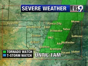 Severe storms move across the state Thursday