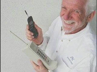 Cell phone celebrates 35th birthday