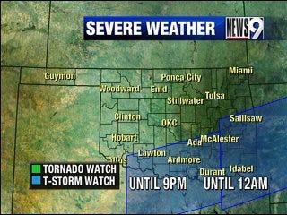Severe weather threat decreases