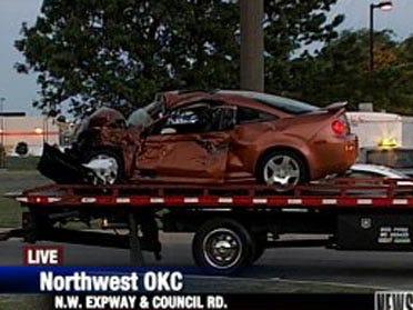 Car collision injures 1, slows traffic