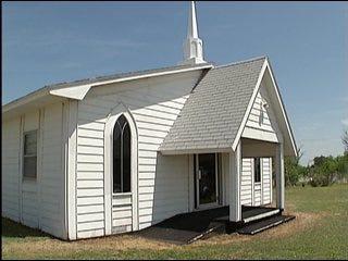 Church forgives after thief strikes