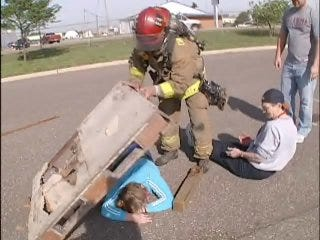 Disaster exercise prepares first responders