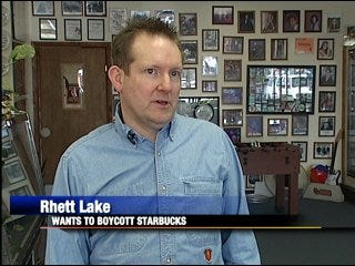 Metro man plans boycott against Starbucks