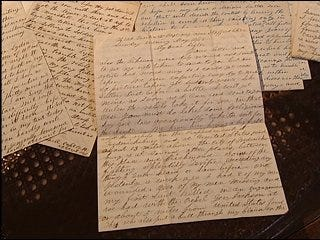 Local history buff inherits old war letters