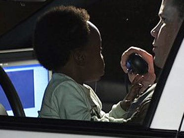 Man leads police on chase with baby in car