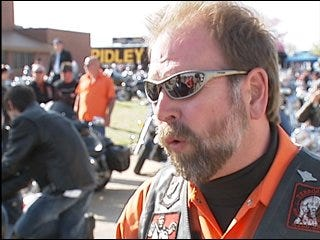 Bikers ride for charity