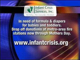 Infant Crisis Services offers help to new mothers