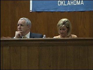 Party president visits Oklahoma
