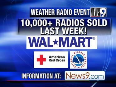 Weather Radio Event Last Saturday
