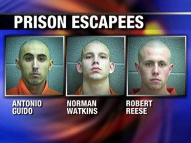 Escaped inmates back in custody