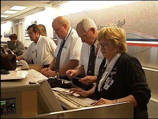 Flights canceled, leaving travelers stranded