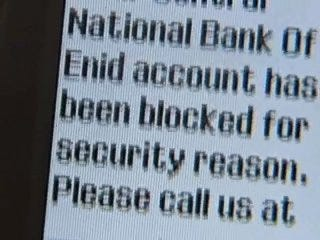 Enid bank customers targeted by scam