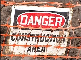 I-40 construction delayed