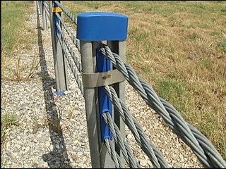 Cable barriers preventing crossover crashes