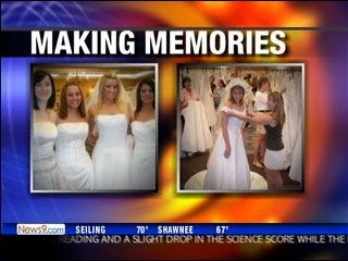 Brides fight cancer with fashion