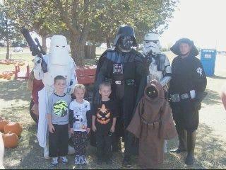 Children benefit from local Star Wars club
