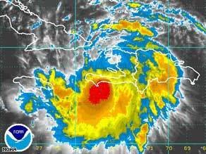 Tropical Storm Fay approaches Cuba, Florida Keys