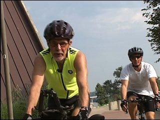 'Go Green' riding your bike to work