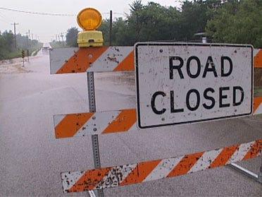 Record rainfall floods state