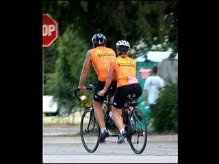 Riders take to two wheels for cause