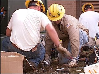 Moore schools work to recover from fire