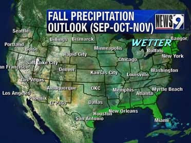 Fall 2008 weather outlook
