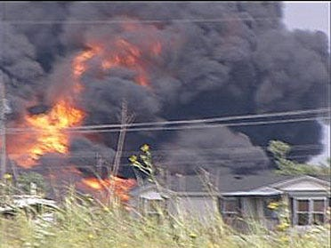 Officials investigate train derailment in Luther