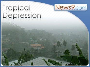 Fay weakens to tropical depression