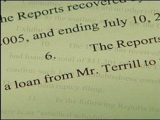 Terrill allegedly withheld assets