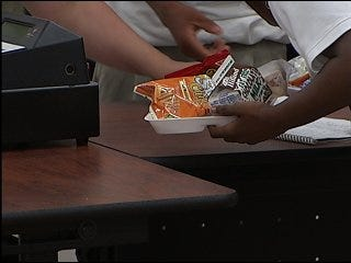 Construction keeps school from cooking lunch