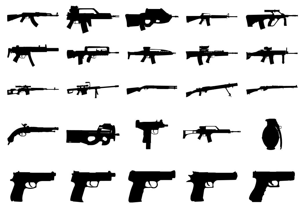 Gun safety, please.