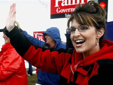 McCain chooses Alaska Gov. as running mate