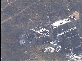 OHP: Train, tanker collision kills 2